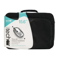 "Tech air 15.6"" Laptop Bag with wired mouse - Notebook accessories bundle - 15.6"" - black"