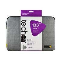 "Tech air EVO Laptop Sleeve - Notebook sleeve - 13.3"" - grey texturised"
