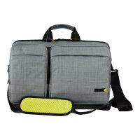 "Tech air EVO Magnetic Laptop Shoulder Bag - Notebook carrying case - Laptop Bag - 15.6"" - grey texturised"