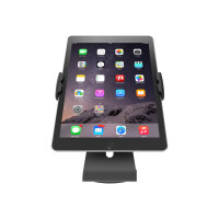 """Compulocks Cling Stand - Universal Tablet Counter Top Kiosk - Black - Stand for tablet - black - screen size: up to 13"""""""