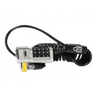 Kensington ClickSafe Portable Combination Laptop Lock - Security cable lock - black