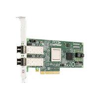 Dell Emulex LPE-12002 - Host bus adapter - PCIe 2.0 x8 low profile - 8Gb Fibre Channel x 2 - for PowerEdge R320, R430, R530, R630, R730, R820, VRTX; PowerVault DL2300, NX3200, NX3300