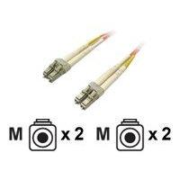 Dell - Network cable - LC multi-mode (M) to LC multi-mode (M) - 5 m - fibre optic - for Compellent FS8600, SC8000; PowerEdge 2950, 6950, M1000E; PowerVault ML6000