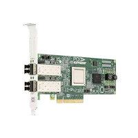 Emulex LightPulse LPE12002 - Host bus adapter - PCIe 2.0 low profile - 8Gb Fibre Channel x 2 - for PowerEdge R330, R430, R530, R630, R730, R730xd