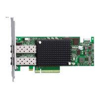 Emulex LightPulse LPe16002B - Host bus adapter - 16Gb Fibre Channel x 2 - for PowerEdge R630, R730, R730xd, R830, R930, T630; PowerVault MD3800F