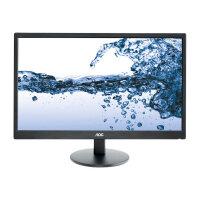 "AOC Value E2270SWDN - LED Computer Monitor - 21.5"" - 1920 x 1080 Full HD (1080p) - TN - 200 cd/m² - 5 ms - DVI-D, VGA - black"