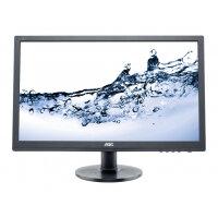 """AOC Value e2460Sh - LED Computer Monitor - 24"""" (24"""" viewable) - 1920 x 1080 Full HD (1080p) - TN - 250 cd/m² - 1000:1 - 1 ms - HDMI, DVI-D, VGA - speakers - black"""
