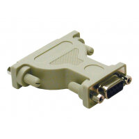 C2G - Null modem adapter - DB-9 (F) to DB-25 (F) - molded