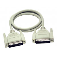 C2G - Serial / parallel cable - DB-25 (M) to DB-25 (M) - 5 m - molded, thumbscrews