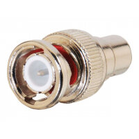 C2G - Video adapter - RCA (F) to BNC (M) - gold