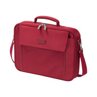 "DICOTA Multi BASE Laptop Bag 17.3"" - Notebook carrying case - 17.3"" - red"