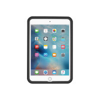Incipio CAPTURE - Back cover for tablet - rugged - silicone, polycarbonate, Plextonium - black - for Apple iPad mini 4