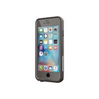 LifeProof Fre - Protective waterproof case for mobile phone - silicone, polycarbonate, polypropylene, synthetic rubber - grind grey - for Apple iPhone 6, 6s