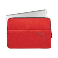 """Targus 360 Perimeter Sleeve - Notebook sleeve - 15.6"""" - flame scarlet"""