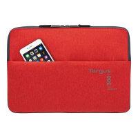 """Targus 360 Perimeter Sleeve - Notebook sleeve - 12"""" - red"""