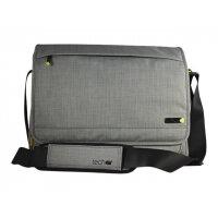 "techair EVO Magnetic Laptop Messenger - Notebook carrying case - Laptop Bag - 15.6"" - grey texturised"