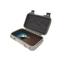 OtterBox DryBox 3250 - Hard case - stainless steel, polycarbonate - green, tan, ridgeline