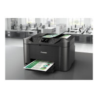 Canon MAXIFY MB5155 - Multifunction printer - colour - ink-jet - A4 (210 x 297 mm), Legal (216 x 356 mm) (original) - A4/Legal (media) - up to 22 ppm (copying) - up to 24 ipm (printing) - 250 sheets - 33.6 Kbps - USB 2.0, LAN, Wi-Fi(n), USB host