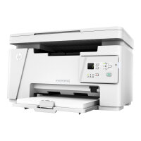 HP LaserJet Pro MFP M26a - Multifunction printer - B/W - laser - 216 x 297 mm (original) - A4 (media) - up to 18 ppm (copying) - up to 18 ppm (printing) - 150 sheets - USB 2.0
