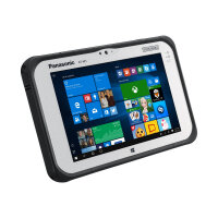 "Panasonic Toughpad FZ-M1 Value - Tablet - Celeron N2807 / 1.58 GHz - Win 10 Pro - 2 GB RAM - 128 GB eMMC - 7"" IPS touchscreen 1280 x 800 - HD Graphics - Wi-Fi, Bluetooth - rugged"
