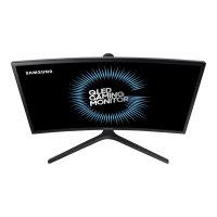 "Samsung CFG7 Series C27FG73FQU - QLED Computer Monitor - curved - 27"" (27"" viewable) - 1920 x 1080 Full HD (1080p) - VA - 350 cd/m² - 3000:1 - 1 ms - 2xHDMI, DisplayPort - matte dark blue black"