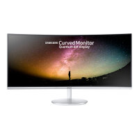 "Samsung CF79 Series C34F791WQU - LED Computer Monitor - curved - 34"" - 3440 x 1440 - VA - 300 cd/m² - 3000:1 - 4 ms - 2xHDMI, DisplayPort - speakers - grey"
