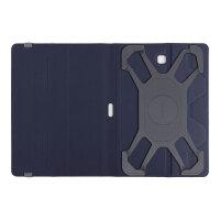 Targus Fit-N-Grip Universal - Flip cover for tablet - polyurethane - black