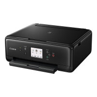 Canon PIXMA TS6150 - Multifunction printer - colour - ink-jet - 216 x 297 mm (original) - A4/Legal (media) - up to 15 ipm (printing) - 120 sheets - USB 2.0, Wi-Fi(n), Bluetooth - black