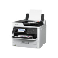 Epson WorkForce Pro WF-C5710DWF - Multifunction printer - colour - ink-jet - A4 (210 x 297 mm), Legal (216 x 356 mm) (original) - A4/Legal (media) - up to 22 ppm (copying) - up to 34 ppm (printing) - 330 sheets - 33.6 Kbps - USB 2.0, Gigabit LAN, Wi-Fi(n)