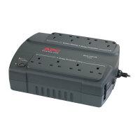 APC Back-UPS ES 400 - UPS - AC 230 V - 400 VA - output connectors: 8 - United Kingdom - charcoal