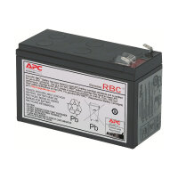 APC Replacement Battery Cartridge #2 - UPS battery - 1 x Lead Acid - black - for P/N: BE500TW, BE550-CP, BK250B, BK280B, BK400B, BK500-CH, BP280, BP280C, BX900R-CN
