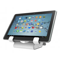 e0a48e402ce Compulocks Universal Tablet Holder - Keyed Cable Lock - White - Stand for  tablet - lockable