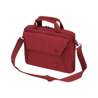 "Dicota Slim Case EDGE - Notebook carrying case - Laptop Bag - 13.3"" - red"