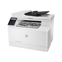 HP Color LaserJet Pro MFP M181fw - Multifunction printer - colour - laser - Legal (216 x 356 mm) (original) - A4/Legal (media) - up to 16 ppm (copying) - up to 16 ppm (printing) - 150 sheets - 33.6 Kbps - USB 2.0, LAN, Wi-Fi(n)
