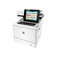 HP LaserJet Enterprise Flow MFP M577c - Multifunction printer - colour - laser - Legal (216 x 356 mm) (original) - A4/Legal (media) - up to 38 ppm (copying) - up to 38 ppm (printing) - 650 sheets - 33.6 Kbps - USB 2.0, Gigabit LAN, USB 2.0 host