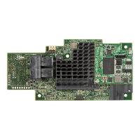Intel Integrated RAID Module RMS3CC040 - Storage controller (RAID) - 4 Channel - SATA 6Gb/s / SAS 12Gb/s - 12 GBps - RAID 0, 1, 5, 6, 10, 50, 60 - PCIe 3.0 x8