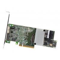 Intel RAID Controller RS3DC080 - Storage controller (RAID) - 8 Channel - SATA 6Gb/s / SAS 12Gb/s low profile - 12 GBps - RAID 0, 1, 5, 6, 10, 50, 60 - PCIe 3.0 x8