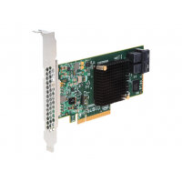 Intel RAID Controller RS3WC080 - Storage controller (RAID) - 8 Channel - SATA 6Gb/s / SAS 12Gb/s low profile - 12 GBps - RAID 0, 1, 5, 10, 50 - PCIe 3.0 x8