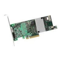 LSI MegaRAID SAS 9271-4i - Storage controller (RAID) - 4 Channel - SAS low profile - 600 MBps - RAID 0, 1, 5, 6, 10, 50, 60 - PCIe 3.0 x8