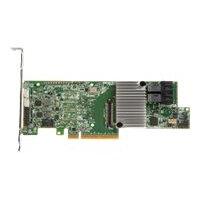 LSI MegaRAID SAS 9361-8i - Storage controller (RAID) - SATA 6Gb/s / SAS 12Gb/s low profile - 12 GBps - RAID 0, 1, 5, 6, 10, 50, 60 - PCIe 3.0 x8