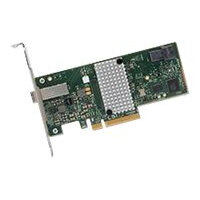 LSI SAS 9300-4i4e SGL - Storage controller - 8 Channel - SATA 6Gb/s / SAS 12Gb/s low profile - PCIe 3.0 x8