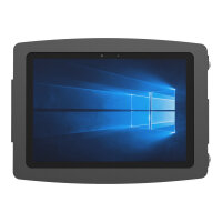 """Compulocks Space - Surface Pro 3/4 / Galaxy TabPro S Enclosure Wall Mount - Black - Mounting kit (enclosure) for tablet - aluminium - black - screen size: 12"""" - wall-mountable - for Microsoft Surface Pro 4"""