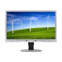 "Philips Brilliance B-line 241B4LPYCS - LED Computer Monitor - 24"" - 1920 x 1080 Full HD (1080p) - 250 cd/m² - 1000:1 - 5 ms - DVI-D, VGA, DisplayPort - speakers - black, silver"