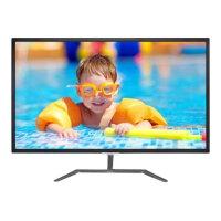 "Philips E-line 323E7QDAB - LED Computer Monitor - 32"" (31.5"" viewable) - 1920 x 1080 Full HD (1080p) - IPS - 250 cd/m² - 1000:1 - 5 ms - HDMI, DVI-D, VGA - speakers - glossy black"