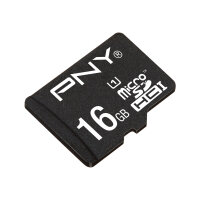 PNY Performance 2015 - Flash memory card (microSDHC to SD adapter included) - 16 GB - UHS Class 1 / Class10 - microSDHC UHS-I
