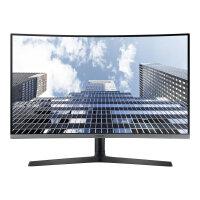 "Samsung CH80 Series C27H800FCU - LED Computer Monitor - curved - 27"" - 1920 x 1080 Full HD (1080p) - VA - 250 cd/m² - 3000:1 - 5 ms - HDMI, DisplayPort, USB-C - dark silver"