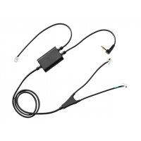 Sennheiser CEHS PA 01 - Headset adapter - RJ-9, mini jack (M) to RJ-9 (M) - 99.5 cm