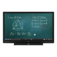 "Sharp BIG PAD PN-60SC5 - 60"" Class LED display - interactive communication - with touchscreen - 1080p (Full HD) 1920 x 1080 - edge-lit - black"