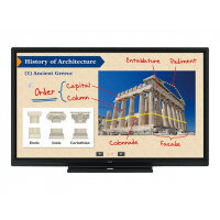 "Sharp BIG PAD PN-70SC5 - 70"" Class LED display - interactive communication - with touchscreen - 1080p (Full HD) 1920 x 1080 - edge-lit - black"