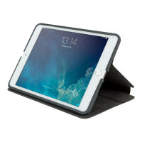 Targus Click-In - Flip cover for tablet - polyurethane - grey - for Apple iPad mini; iPad mini 2; 3